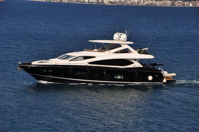 Итальянская верфь Benetti спустила на воду третью яхту из линейки Classic Supreme 132